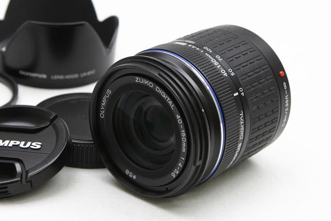 ZUIKO DIGITAL ED 40-150mm F4.0-5.6 フィルター付 【K669】