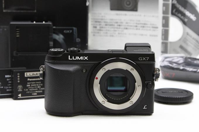 LUMIX DMC-GX7 予備互換バッテリー付き 【K728】