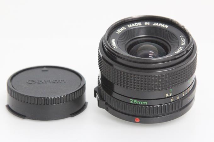 New FD 28mm F2.8 Y182-2A2C