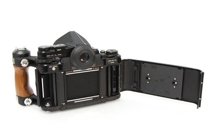 67 ボディ AEファインダー ウッドグリップ 105mm F2.4 レンズ付き M432-2D3